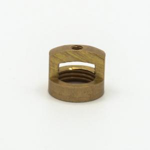 Finale ottone grezzo M10x1 + foro Ø2,5 mm