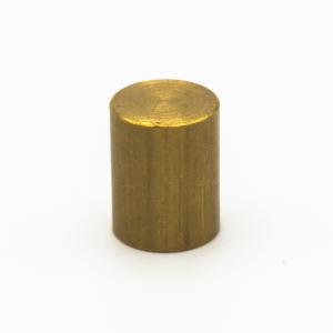 Finale ottone grezzo Ø14 x h18 mm - M10x1 cilindrico