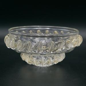 Fondino ricambio lampadario per disco Ø20 cm doppia morisa cristallo e oro vetro Murano