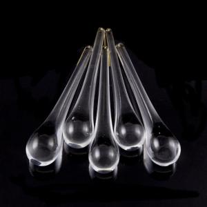 Goccia pendente 120 mm vetro di Murano cristallo