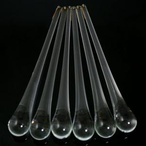 Goccia pendente 200 mm vetro di Murano cristallo