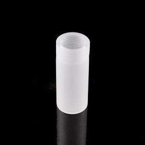 Guscio diffusore in vetro pyrex satinato copri porta-lampada G9 h70 mm con filetto.