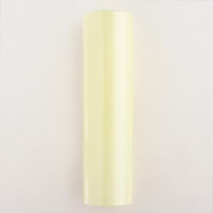 Guscio vetro copri porta-lampada E14 in vetro avorio h120 mm diametro interno 28 mm