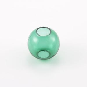 Infilaggio sfera Ø45 mm vetro di Murano color verde
