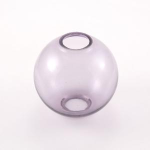 Infilaggio sfera Ø80 mm vetro di Murano color ametista