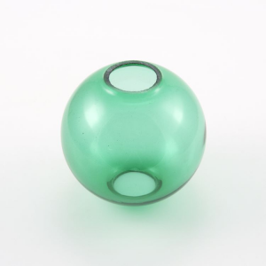 Infilaggio sfera Ø80 mm vetro di Murano color verde