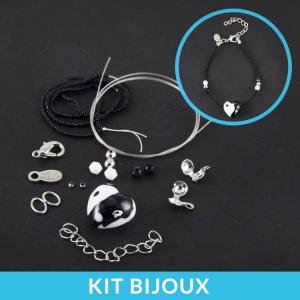 Kit per la creazione fai da te di braccialetto con perle in vetro di Murano