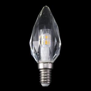 Lampadina E14 led in cristallo luce calda, 4 W 3000K