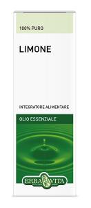 LIMONE OLIO ESSENZIALE - AZIONE INTESTINALE 10 ML ERBAVITA
