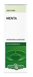 MENTA OLIO ESSENZIALE - INTEGRATORE INTESTINALE ERBAVITA FLACONE 10 ML