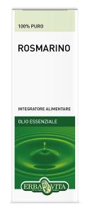 ROSMARINO OLIO ESSENZIALE - INTEGRATORE AZIONE DIGESTIVA ERBAVITA 10 ML
