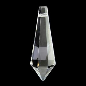 Pendaglio prisma sfaccettato Spectra Swarovski 38 mm cristallo.