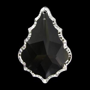 Pendente foglia Swarovski color cristallo, 50 mm - 8901