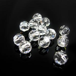 Perla 6 mm sfaccettata cristallo -Asfour 1502-
