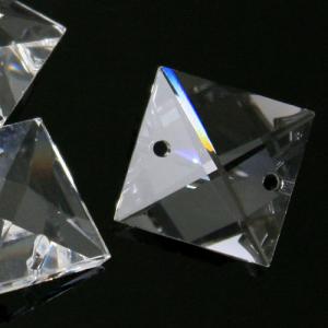 Quadruccio 26 mm cristallo sfaccettato due fori -Asfour 2020- per lampadari