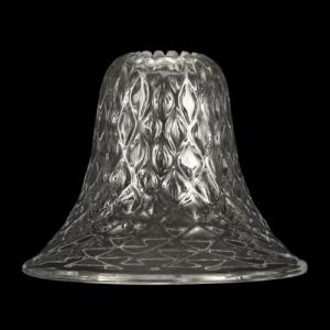 Ricambio tazza porta lampada in vetro di Murano Ø14,5 cm cristallo trasparente Baloton