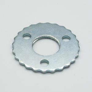 Rondella Ferro zincato M10x1 + 3 fori laterali