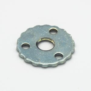 Rondella Ferro zincato M6 + 3 fori laterali
