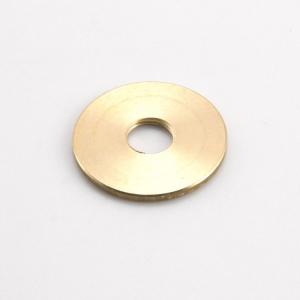 Rondella piana filettata, foro M10x1 ottone, diametro esterno Ø 29x2 mm M10x1