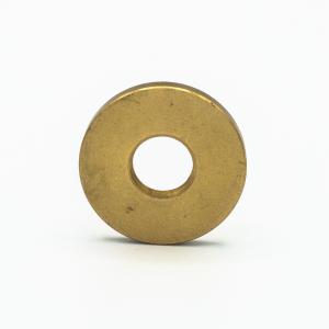 Rondella piana Ø25x2 mm M10x1 ottone grezzo