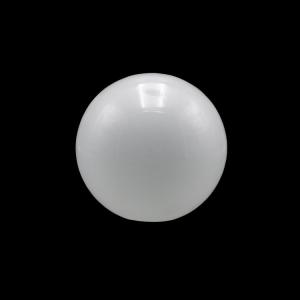Sfera vetro soffiato Ø10 bianco latte lucido boccia ricambio per lampadari