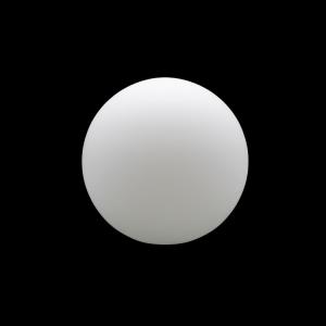 Sfera vetro soffiato Ø10 bianco latte satinato boccia ricambio per lampadari