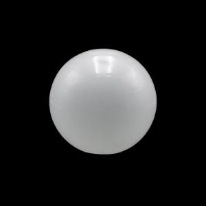 Sfera vetro soffiato Ø12 bianco latte lucido boccia ricambio per lampadari