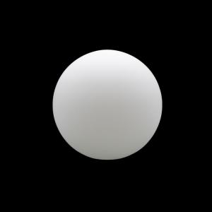 Sfera vetro soffiato Ø12 bianco latte satinato boccia ricambio per lampadari