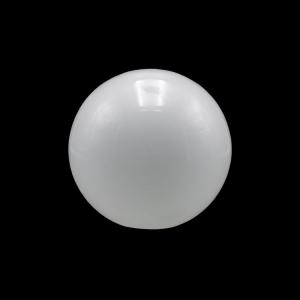 Sfera vetro soffiato Ø15 bianco latte lucido boccia ricambio per lampadari