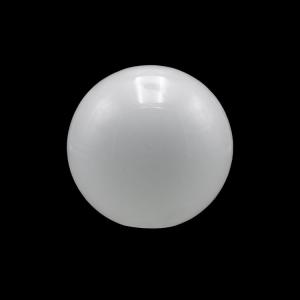 Sfera vetro soffiato Ø20 bianco latte lucido boccia ricambio per lampadari