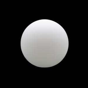 Sfera vetro soffiato Ø20 bianco latte satinato boccia ricambio per lampadari