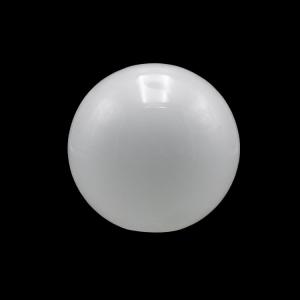 Sfera vetro soffiato Ø25 bianco latte lucido boccia ricambio per lampadari