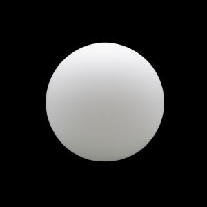 Sfera vetro soffiato Ø25 bianco latte satinato boccia ricambio per lampadari