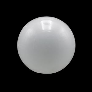 Sfera vetro soffiato Ø30 bianco latte lucido boccia ricambio per lampadari