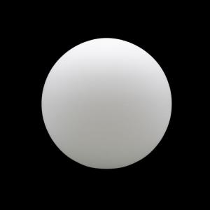 Sfera vetro soffiato Ø30 bianco latte satinato boccia ricambio per lampadari