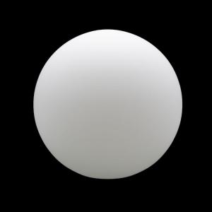 Sfera vetro soffiato Ø35 bianco latte satinato boccia ricambio per lampadari