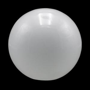 Sfera vetro soffiato Ø40 bianco latte lucido boccia ricambio per lampadari