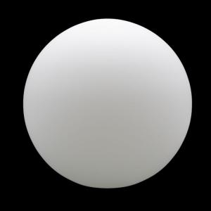 Sfera vetro soffiato Ø40 bianco latte satinato boccia ricambio per lampadari
