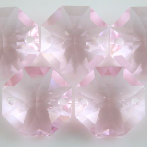Swarovski - Cristallo ottagono doppio foro Rosaline Rosalyn 14 mm - 8116 -