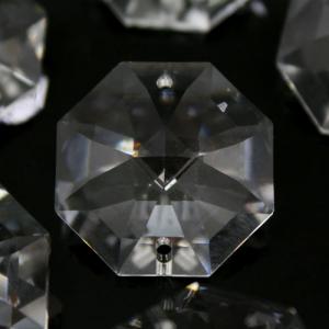 Swarovski - Cristallo ottagono doppio foro Trasparente 26 mm - 8116 -