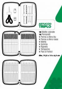 Trolley Astuccio Triplo Diario Cuccioli cerca amici Bassotto TRUDI Auguri Preziosi