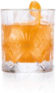 Set 6 Bicchieri in vetro trasparente Of Tumbler, CL 23, Melodia