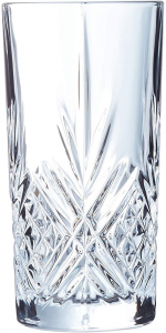 Set di 6 bicchieri long drink in vetro trasparente 28 cl Broadway