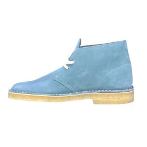 Clarks - DESERT BOOT Blue/Grey Suede