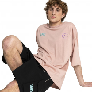 Startup T-Shirt Da uomo Oversize