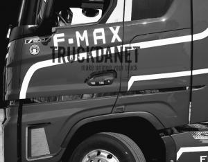 FORD F-MAX Profili laterali cabina in acciaio inox lucido (aisi 304).