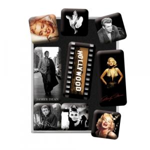 Set 9 magneti Marilyn Monroe