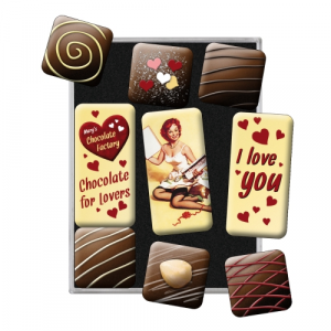 Set 9 magneti Chocolate for Lovers