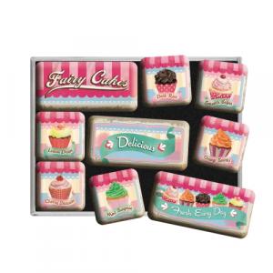 Set 9 magneti Fairy Cakes