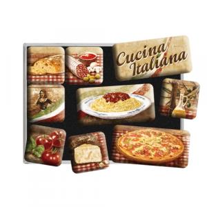 Set 9 magneti Cucina Italiana